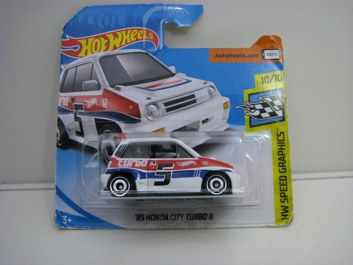 Honda City Turbo 1985 White Hot Wheels Speed Graphics-2018-FJV43